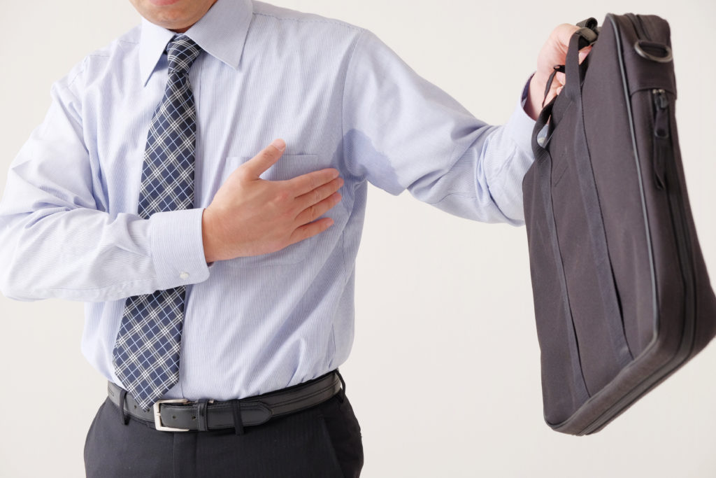 Hyperhidrosis or Underarm Sweating Reduction