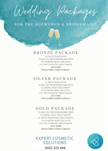 Wedding Packages For The Bucksmen & Bridesmaids